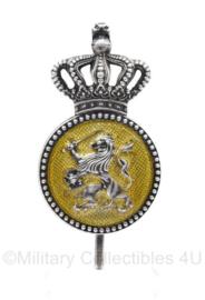 Kmar Marechaussee vorig model DT pet insigne  - 6,5 x 3 cm - origineel