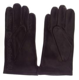 ABL Leger handschoenen bruin leder - NIEUW IN VERPAKKING - maat 10 - origineel