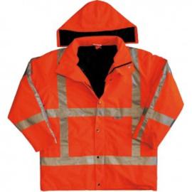 M-Wear 0986 Oxford jas oranje - lengte 172-180 cm. en borstomtrek 102-110 cm. - nieuw