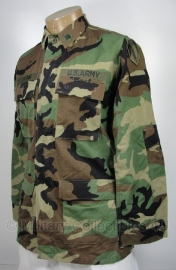 US BDU Woodland uniform jas - Small  Long - Specialist - topstaat - origineel