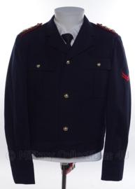 "KM Koninklijke Marine,  Korps Mariniers ""battledress"" uniform jasje - rang ""marinier der 1ste klasse"" - maat 45 - 1975 - origineel"