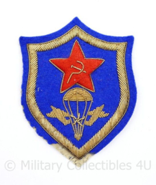 USSR Russische leger arm embleem Officier metaaldraad - 8,5 x 6,5 cm - origineel