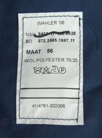 KLu Luchtmacht Avondtenue GLT uniform set (overhemd, broek, gilet, overhemd, stropdas)- rang Kapitein - alles nieuw in verpakking - maat jas 56 1/4 - origineel