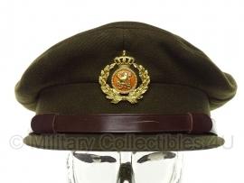 Nederlandse leger pet officier - Hassing BV 1973 gedateerd- maat 61 - ongedragen - origineel