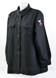 US Navy USN zwart Dames matrozen shirt - met rang en embleem -Navy Fighter Weapons School -  maat 18 = xl - origineel