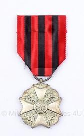 Belgische burgerlijk ereteken zilvere medaille - Origineel