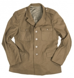 Bruine uitgaans uniform jas- wo2 US model class a -origineel
