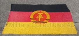 DDR vlag groot 2,7 x 1,8 m- origineel DDR !