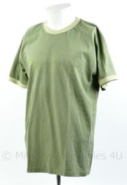 Defensie groen T-shirt - geschikt ongeschikt  - maat L - origineel