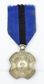 Belgische orde van leopold II zilver medaille  - Origineel
