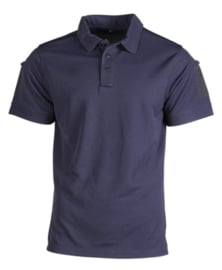 Tactical Quick Dry Poloshirt korte mouw - met klittenband op de mouwen - BLAUW - nieuw gemaakt