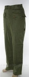 Koninklijke Nederlandse Marine broek - groen - maat 47 - 1961 - origineel
