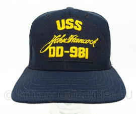 USN US Navy baseball cap bemanning USS John Hancock DD-981 - one size - origineel
