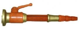 Brandweer straalkop - 50 cm. lang! - origineel