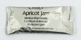 Rantsoen Orifo Abrikozen jam / Aprikot jam  THT 6-2022 - 20 gram