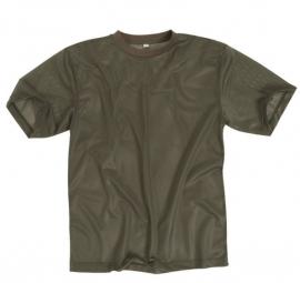 Shirt vochtregulerend warm weer - groen