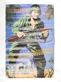 Replica poster van het Korps Mariniers - 55 x 36 cm