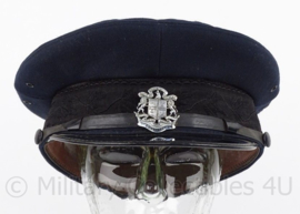 Britse Politie pet - City of New Westminster Constable Police - maat 7 3/8 - origineel