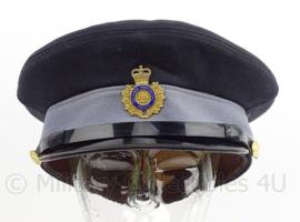Canadese politie pet -  Ontario Provincial Police - met visitekaartje - maat 7 - origineel