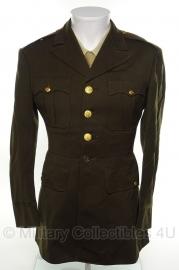 US officers Class A jas - size 38/40= maat 48/50 - origineel WO2