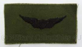 US Army BDU borst wing - subdued - afmeting 9,5 x 5,5 cm - Origineel