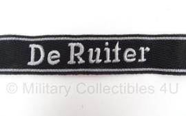 SS officiers cufftitle De Ruiter