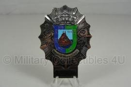 Spaanse Politie petembleem Policia Municipal - 8 x 5,8 cm - origineel