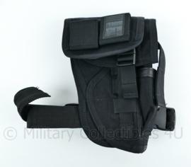Blackhawk holster met leg strap zwart - 23 x 15 x 4 cm - origineel