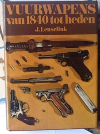 Boek Vuurwapens van 1840 tot hedenJ. Lenselink