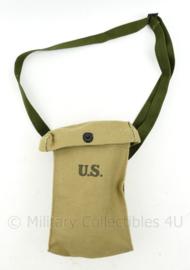 WO2 US khaki ammunition bag SEMS 1943 - 24 x 14 x 5 cm - replica