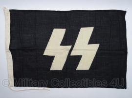 SS vlag katoen - replica