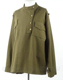 WO2 Russisch model uniform shirt - groen - borstomtrek 138  cm - replica
