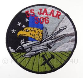 """KLu Koninklijke Luchtmacht """"35 jaar 306th Squadron"""" -  diameter 10 cm"""