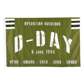 Vlag Operation Overlord D-Day 6 June 1944 Utah Omaha Gold June Sword