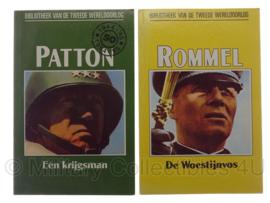 """Boekjes """"Patton"""" en """"Rommel"""" - origineel"""