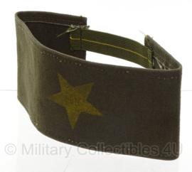 Groene armband met gele ster - onbekend - origineel