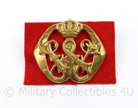 Defensie baret insigne Officieren van het Militaire huis van HM de Koningin Adjudanten in buitengewone dienst - 7 x 5 cm -  origineel