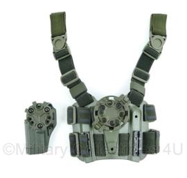 Blackhawk tactical dropleg holster platform with quick disconnect kit en serpa  CQC holster - origineel - nieuw!
