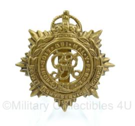 WO2 Britse cap insigne Royal Army service Corps -   origineel