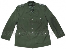 Duitse groene BGS uniform jas - Medium of Large - origineel