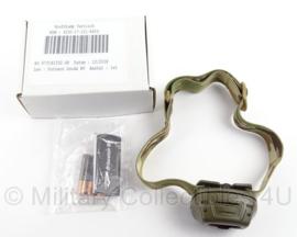 KL Landmacht Tactical hoofdlamp Princeton Tec met NSN - Multicamo - nieuw in de verpakking - origineel