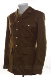 Britse leger uniform jas bruin/groen met insignes YORKSHIRE - meerdere maten - origineel