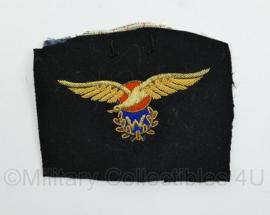 Koninklijke Marine zeldzame officier MLD Marine Luchtvaartdienst waarnemer wing van het uniform geknipt - 10 x 12 cm - origineel