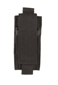 Magazijntas Single Magazin pouch koppeltas - MOLLE draagsysteem - 6 x 2 x 12 cm - ZWART