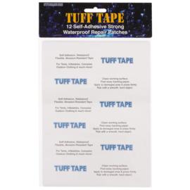 StormSure TUFF Tape Reparatie assorti patches - om gaten en lekkages te repareren - 12 stuks