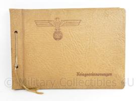 WO2 Duitse Wehrmacht leeg fotoalbum met Adelaar - 31,5 x 22  cm - origineel