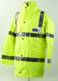 Britse Politie Police geel jack met voering - maat Small Regular  - nieuw - origineel