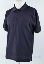 Fjallraven Crowley Pique shirt polo korte blauw  - Maat Medium - nieuw - origineel