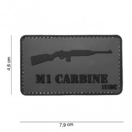 Embleem 3D PVC - met klittenband - WW2 M1 Carbine patch - 7,9 x 4,6  cm