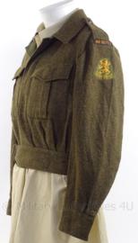 """MVO uniform jasje """"Van Heutsz"""" - 1955 - maat 48 - origineel"""